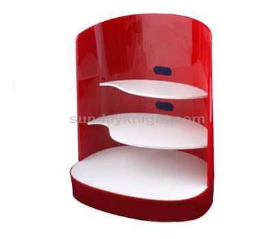 Beauty supply store shelves