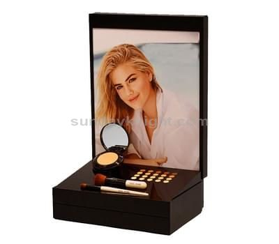 Beauty product display stands
