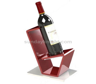 Single bottle display stand