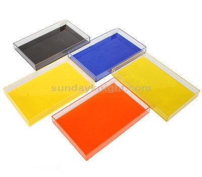 Custom lucite trays