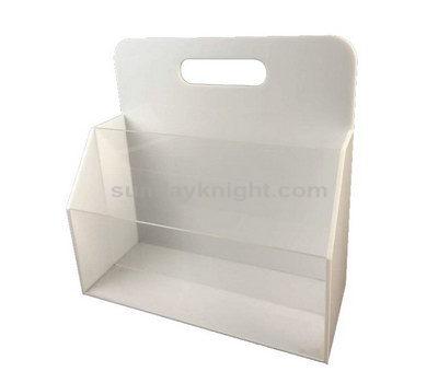 White magazine holder