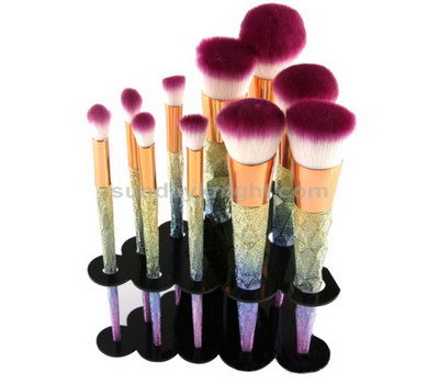 acrylic makeup brush holder acrylic cosmetic brush holder. Black Bedroom Furniture Sets. Home Design Ideas