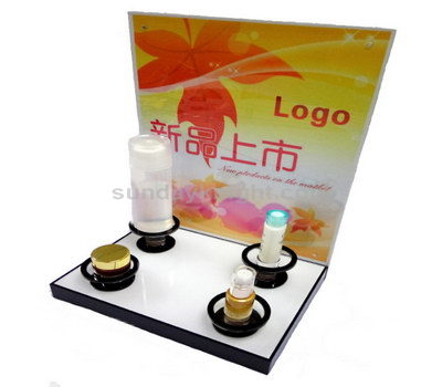 Skin care product acrylic display