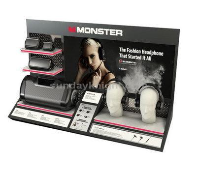 Acrylic headphone display
