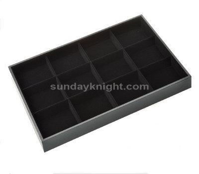 Acrylic divided tray