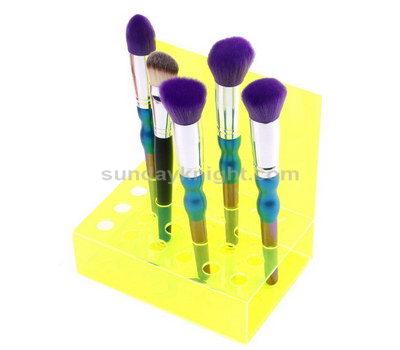 Custom makeup brush display