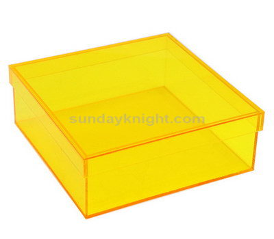 SKAB-176-1 Custom colored acrylic boxes