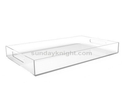 Clear tray