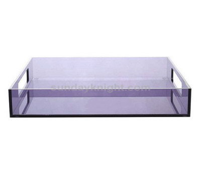 Custom lucite serving tray