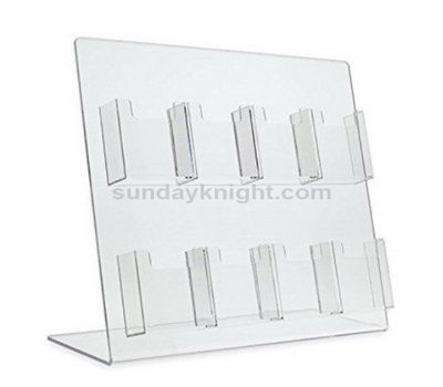 Table top acrylic brochure holder