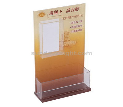Sign and brochure holder