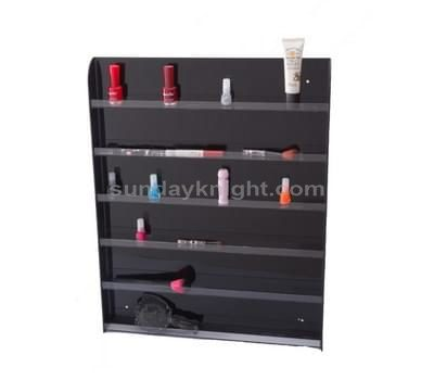 Plexiglass display shelves