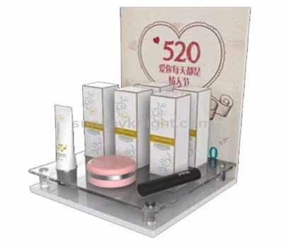 Custom cosmetic retail display