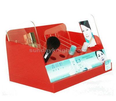 Acrylic makeup organizer stand