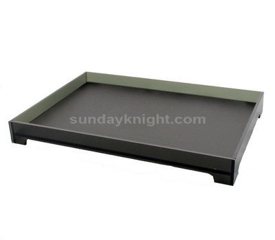 Acrylic food serving tray