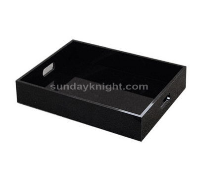 Beverage serving trays
