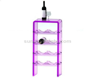 SKWD-089-1 Custom acrylic wine rack
