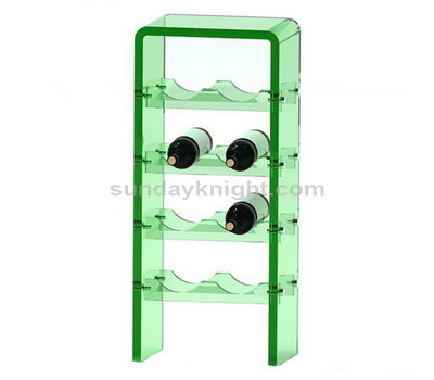Custom acrylic wine rack