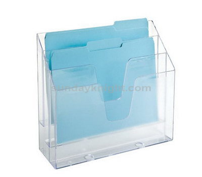 Clear brochure holders displays