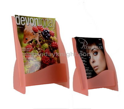 Table top literature display stands