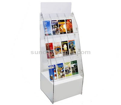 Free standing leaflet holders