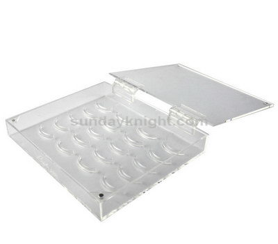 Clear lash box