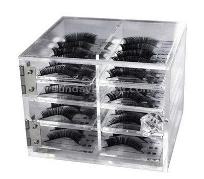 Acrylic eyelash organizer