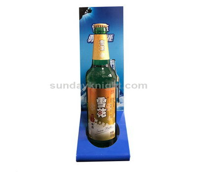 Beer bottle display stand