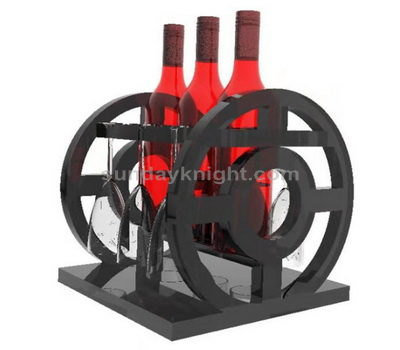 Custom acrylic wine display