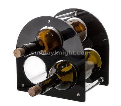 3 bottle display stand for wine