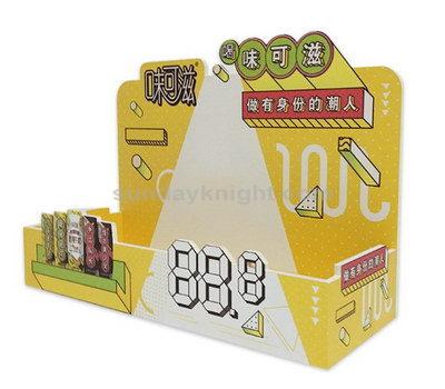 Custom snacks display stands