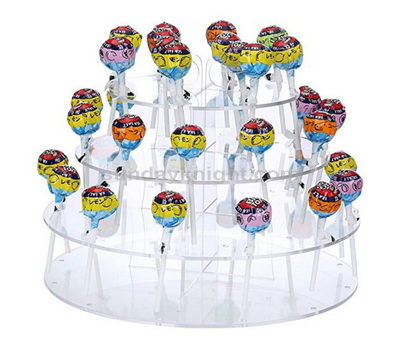 Lollipop display rack