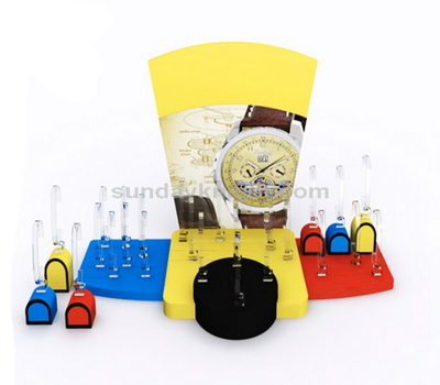 Children watch display stand