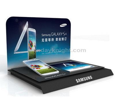 Custom mobile phone display stand