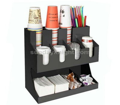 Acrylic coffee cup dispenser