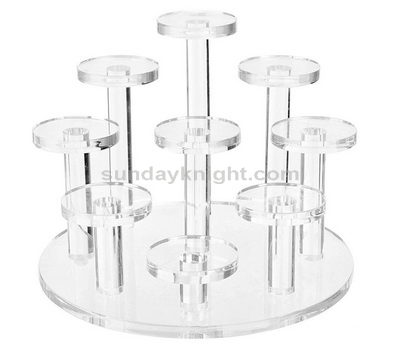Custom acrylic ring display stands