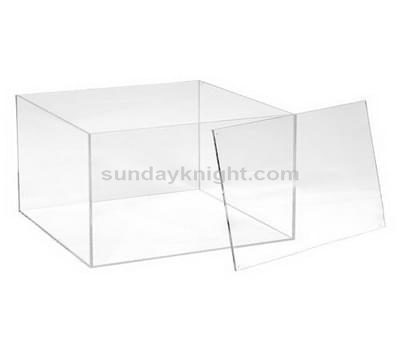 Custom acrylic box with lid