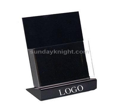 Custom acrylic literature holders