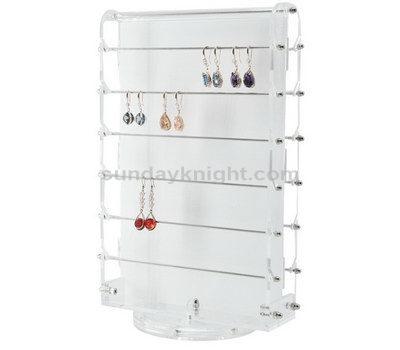 Acrylic earring display rack