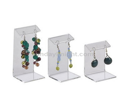 Clear earring display stand