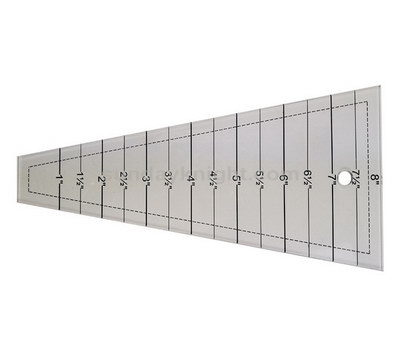 Custom acrylic sewing grading ruler