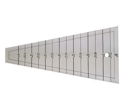 Custom acrylic sewing grading ruler