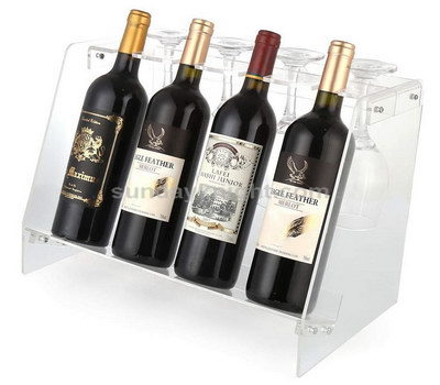 Acrylic wine racks