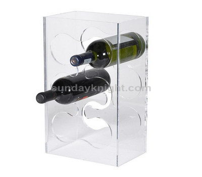Acrylic wine bottle holder wholesale