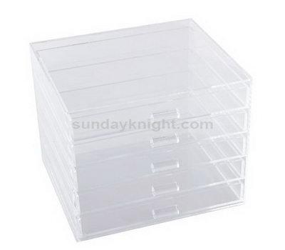 Custom acrylic drawer box