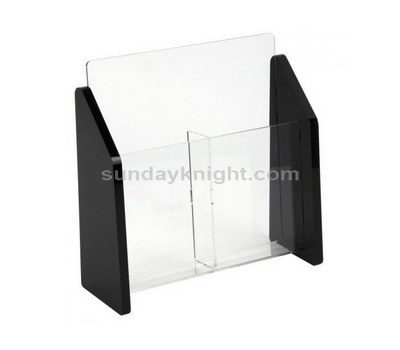 2 pocket acrylic brochure holder