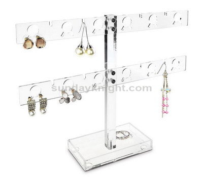 Plexiglass earring display stand