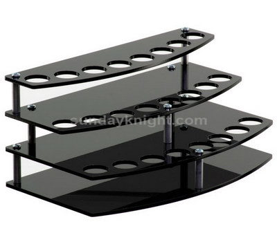 Stylish black lipstick display stand