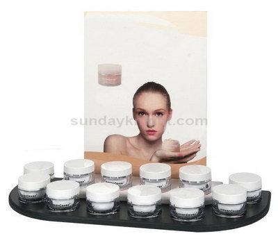 Skincare acrylic display stand