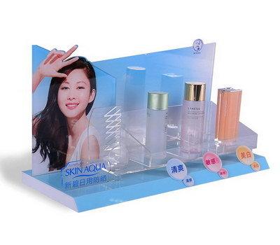 Custom skincare display stands